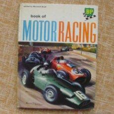 Coleccionismo deportivo: LIBRO BOOK OF MOTOR RACING, BP, EDITORIAL STANLEY PAUL, EDITADO POR MAXWELL BOYD, 1ª EDICIÓN, 1959. Lote 43576330