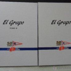 Coleccionismo deportivo: EL GRUPO. 50 AÑOS. 1938 - 1988. TOMO I Y II. GRUPO CULTURA COVADONGA. 2 TOMOS EN TAPA DURA. 22 X 29. Lote 43619237