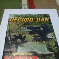 Coleccionismo deportivo: REVISTA DECIMO DAN -PROFESIONAL -NINJA -1990 . Lote 44443962