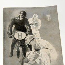 Coleccionismo deportivo: 24 HORAS MOTOCICLISTAS DE BARCELONA TROFEO CENTAURO CIRCUITO DE MONTJUICH 1955. Lote 44746435