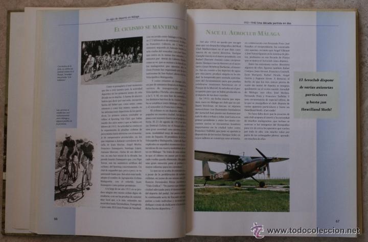 Coleccionismo deportivo: UN SIGLO DE DEPORTE EN MALAGA - M. CASTILLO Y J. CORTÉS - PERIODICO SUR - 2001 - Foto 4 - 44788300