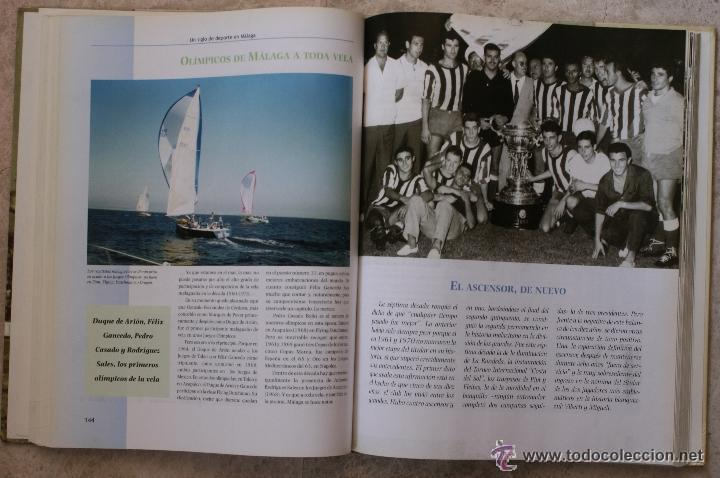 Coleccionismo deportivo: UN SIGLO DE DEPORTE EN MALAGA - M. CASTILLO Y J. CORTÉS - PERIODICO SUR - 2001 - Foto 5 - 44788300