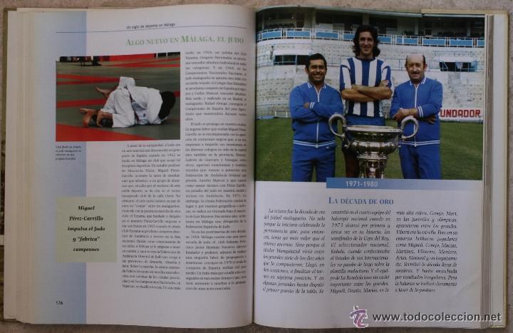 Coleccionismo deportivo: UN SIGLO DE DEPORTE EN MALAGA - M. CASTILLO Y J. CORTÉS - PERIODICO SUR - 2001 - Foto 7 - 44788300