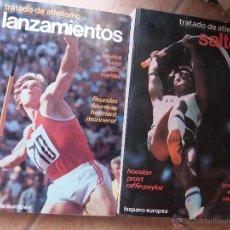 Coleccionismo deportivo: TRATADO DE ATLETISMO: LOS LANZAMIENTOS Y SALTOS.. Lote 45098811