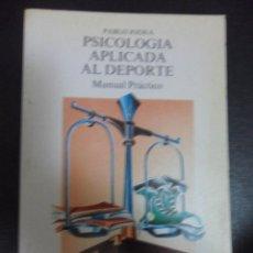 Coleccionismo deportivo: PSICOLOGIA APLICADA AL DEPORTE. PABLO JODRA. MANUAL PRACTICO. LIBROS PENTHALON, 1992. RUSTICA. 13 X. Lote 50427974
