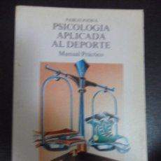 Coleccionismo deportivo: PSICOLOGIA APLICADA AL DEPORTE. PABLO JODRA. MANUAL PRACTICO. LIBROS PENTHALON, 1992. RUSTICA. 13 X . Lote 51668992