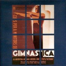 Coleccionismo deportivo: L'ESPORT S'ANUNCIA 1912 2002 GENERALITAT DE CATALUNYA DEPARTAMENT DE CULTURA SECRETARIA GENERAL DE L. Lote 45890662