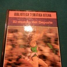 Coleccionismo deportivo: EL MUNDO DEL DEPORTE - UTEHA (CAZA- FÚTBOL-GOLF-ESGRIMA-MOTOS-COCHES-CICLISMO-ALPINISMO...). Lote 46033972