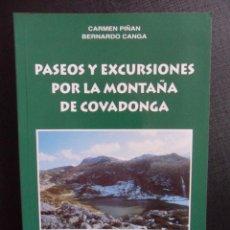 Coleccionismo deportivo: PASEOS Y EXCURSIONES POR LA MONTAÑA DE COVADONGA. CARMEN PIÑAN Y BERNARDO CANGA. PROLOGO DE MARINO B. Lote 46164870