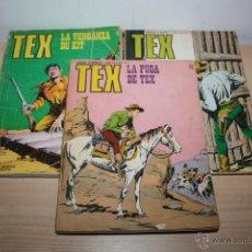 Coleccionismo deportivo: TEX BURU LAN LOTE DE 3 COMICS. Lote 46315142