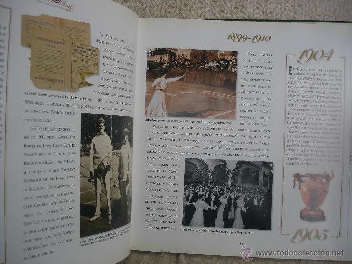 Coleccionismo deportivo: 100 Anys Real Club de tenis de Barcelona 1899 - Foto 7 - 46396082