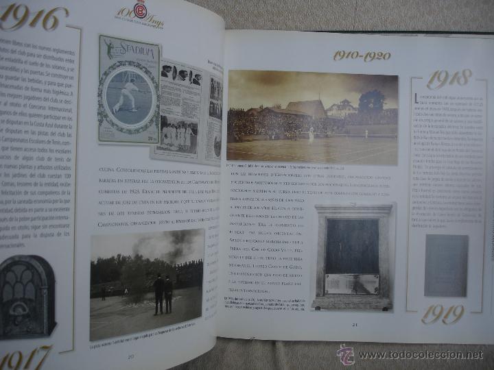 Coleccionismo deportivo: 100 Anys Real Club de tenis de Barcelona 1899 - Foto 8 - 46396082