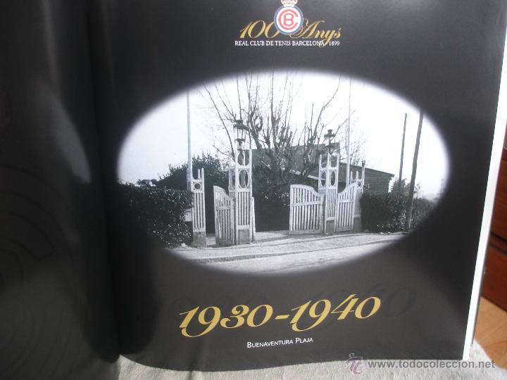 Coleccionismo deportivo: 100 Anys Real Club de tenis de Barcelona 1899 - Foto 9 - 46396082