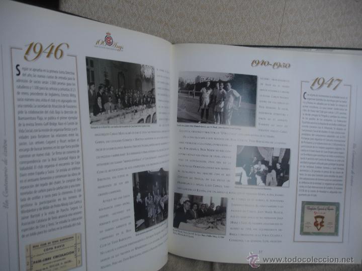 Coleccionismo deportivo: 100 Anys Real Club de tenis de Barcelona 1899 - Foto 10 - 46396082