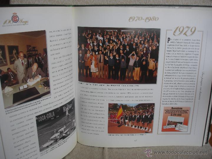 Coleccionismo deportivo: 100 Anys Real Club de tenis de Barcelona 1899 - Foto 11 - 46396082