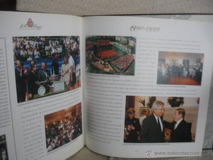 Coleccionismo deportivo: 100 Anys Real Club de tenis de Barcelona 1899 - Foto 13 - 46396082