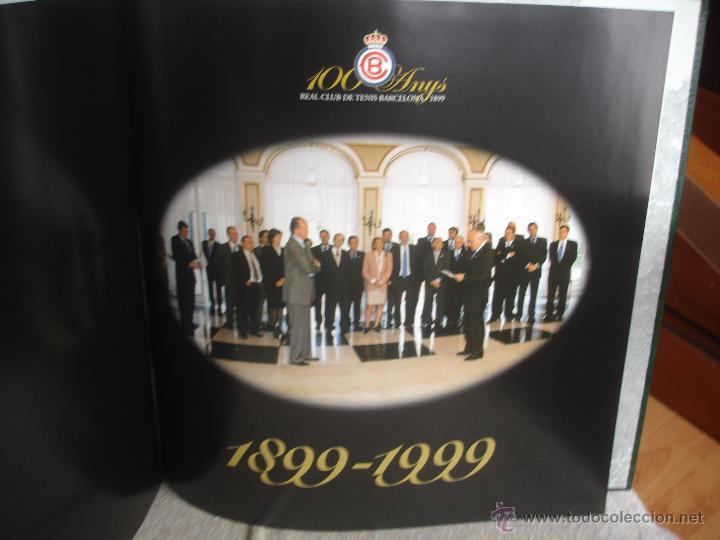 Coleccionismo deportivo: 100 Anys Real Club de tenis de Barcelona 1899 - Foto 14 - 46396082