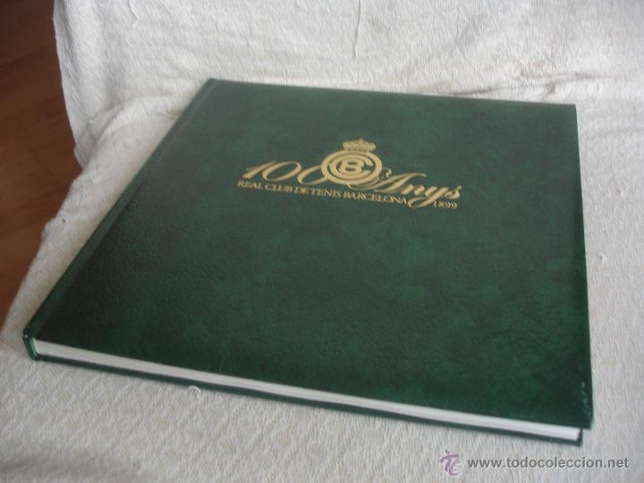 Coleccionismo deportivo: 100 Anys Real Club de tenis de Barcelona 1899 - Foto 16 - 46396082