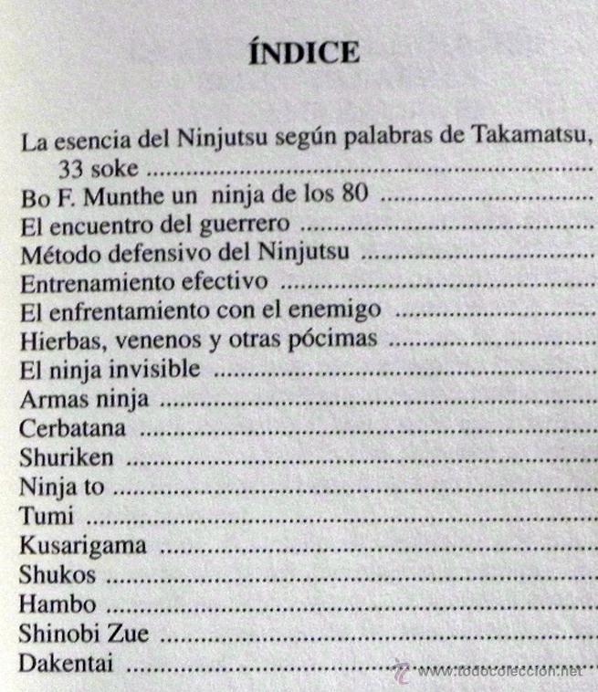 Coleccionismo deportivo: LIBRO DE ORO NINJA II - ARTES MARCIALES -ILUSTRADO - TÉCNICA DEFENSA GUÍA ARMAS ENTRENAMIENTO NINJAS - Foto 2 - 124455842