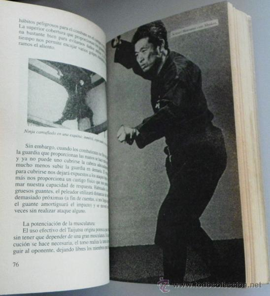 Coleccionismo deportivo: LIBRO DE ORO NINJA II - ARTES MARCIALES -ILUSTRADO - TÉCNICA DEFENSA GUÍA ARMAS ENTRENAMIENTO NINJAS - Foto 5 - 124455842
