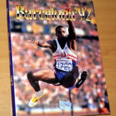 Coleccionismo deportivo: LIBRO EN INGLÉS: LIBRO OFICIAL DE LAS OLIMPIADA DE BARCELONA '92 - TEAM PUBLICATIONS - AÑO 1992. Lote 46751410
