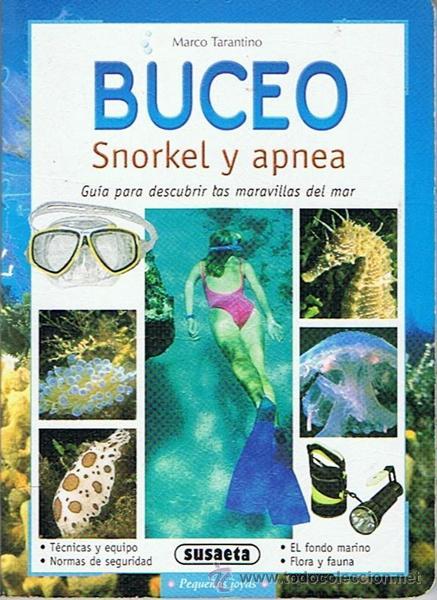 BUCEO SNORKEL Y APNEA MARCO TARANTINO (Coleccionismo Deportivo - Libros de Deportes - Otros)