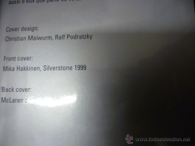 Coleccionismo deportivo: McLaren Formula 1 - 1999 - (en ingles) - Foto 2 - 47126130