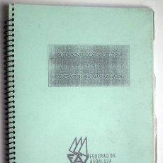 Coleccionismo deportivo: REGLAMENTO FEDERACION ANDALUZA DE VELA. Lote 47694094