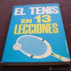 Coleccionismo deportivo: EL TENIS EN 13 LECCIONES - FAUSTO GARDINI, BIBLIOTECA DEPORTIVA DE VECHI, 1974.. Lote 47863956