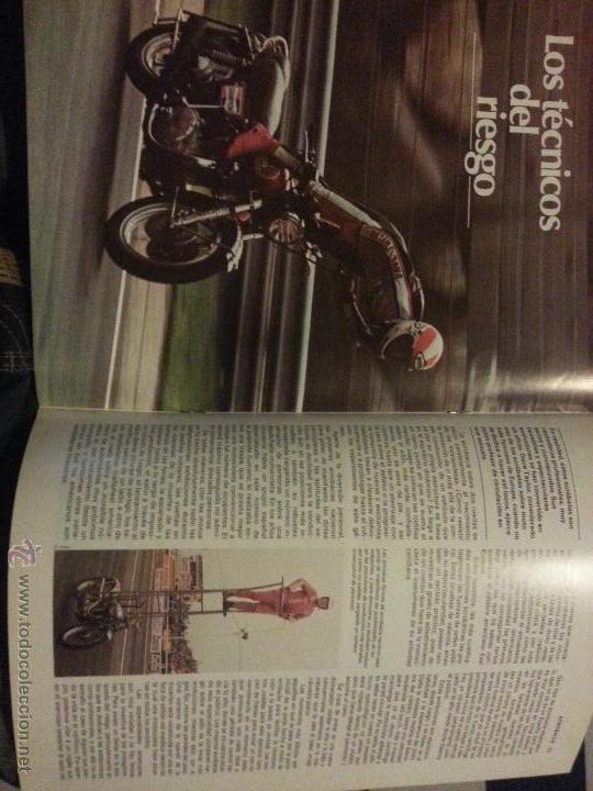 Coleccionismo deportivo: motos - gran enciclopedia ilustrada de la moto, 2 dos ruedas , editorial delta 4 tomos 1976 1977 - Foto 3 - 48368812