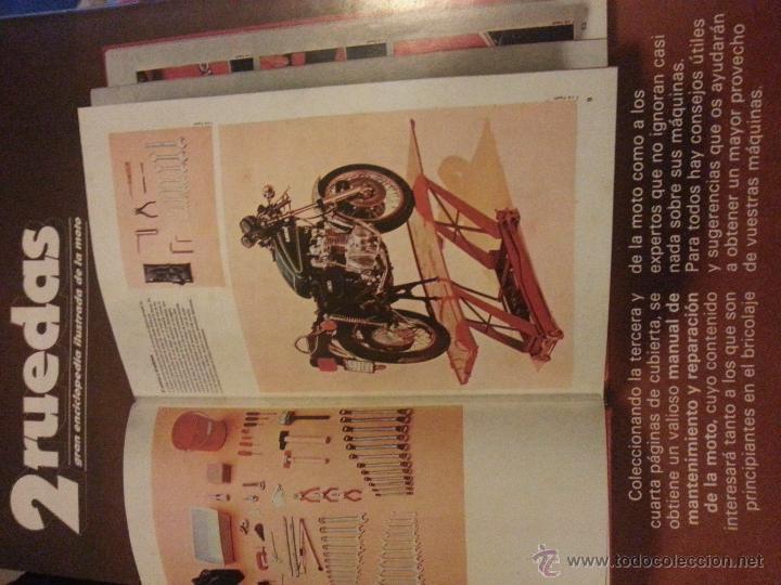 Coleccionismo deportivo: motos - gran enciclopedia ilustrada de la moto, 2 dos ruedas , editorial delta 4 tomos 1976 1977 - Foto 4 - 48368812