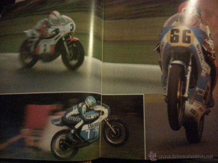 Coleccionismo deportivo: motos - gran enciclopedia ilustrada de la moto, 2 dos ruedas , editorial delta 4 tomos 1976 1977 - Foto 5 - 48368812