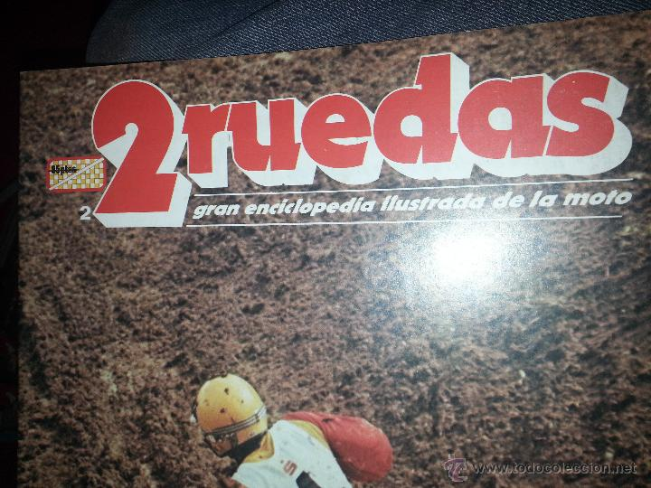 Coleccionismo deportivo: motos - gran enciclopedia ilustrada de la moto, 2 dos ruedas , editorial delta 4 tomos 1976 1977 - Foto 6 - 48368812