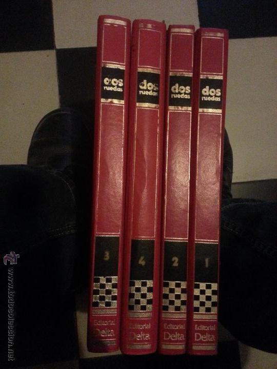 MOTOS - GRAN ENCICLOPEDIA ILUSTRADA DE LA MOTO, 2 DOS RUEDAS , EDITORIAL DELTA 4 TOMOS 1976 1977 (Coleccionismo Deportivo - Libros de Deportes - Otros)