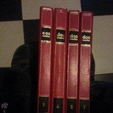 Coleccionismo deportivo: MOTOS - GRAN ENCICLOPEDIA ILUSTRADA DE LA MOTO, 2 DOS RUEDAS , EDITORIAL DELTA 4 TOMOS 1976 1977. Lote 48368812