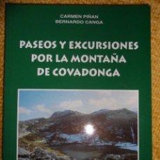 Coleccionismo deportivo: PASEOS Y EXCURSIONES POR LA MONTAÑA DE COVADONGA. CARMEN PIÑAN Y BERNARDO CANGA. PROLOGO DE MARINO B. Lote 48520179