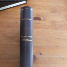 Coleccionismo deportivo: ENTREJARAS Y BREÑALES. ANTONIO CORVASI. ED. . Lote 48843931