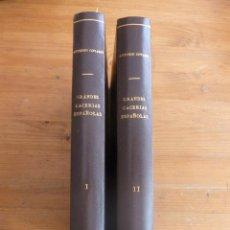 Coleccionismo deportivo: GRANDES CACERIAS ESPAÑOLAS. ANTONIO CORVASI. EDICIONES ARTE Y BIBLIOFILIA. 2 VOL. 1985 310 Y 350PAG. Lote 48844013