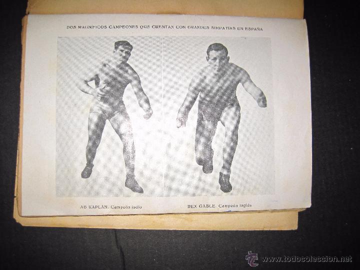Coleccionismo deportivo: CATCH -AS- CATCH - CAN - DEPORTE IMPRESIONANTE Y VIGOROSO - REGLAMENTO HISTORIAL ...-JOSE ATIENZA - Foto 7 - 48852166