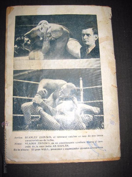 Coleccionismo deportivo: CATCH -AS- CATCH - CAN - DEPORTE IMPRESIONANTE Y VIGOROSO - REGLAMENTO HISTORIAL ...-JOSE ATIENZA - Foto 8 - 48852166
