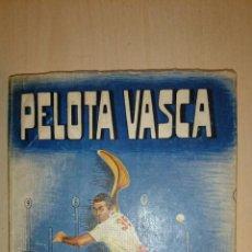 Coleccionismo deportivo: 1954 - GIBERT, SALVADOR DEL M. - PELOTA VASCA - DEPORTES. Lote 49367496
