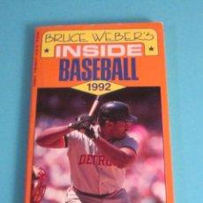 Coleccionismo deportivo: INSIDE BASEBALL. BRUCE WEBER'S. Lote 49583905