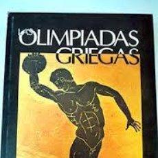 Coleccionismo deportivo: [DEPORTE - HISTORIA:] LAS OLIMPIADAS GRIEGAS - DURANTEZ, CONRADO. (1977). Lote 49592724