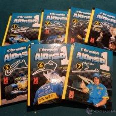Coleccionismo deportivo: FÓRMULA ALONSO - LOTE 7 LIBROS - MARCA 2005 - TAPA DURA - FOTOS EN COLOR. Lote 50417759