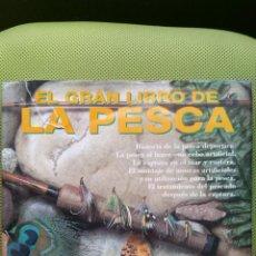 Colecionismo desportivo: EL GRAN LIBRO DE LA PESCA, EDITORIAL EVEREST( LEÓN )1996. Lote 49865139