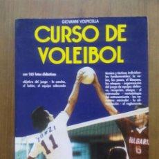 Coleccionismo deportivo: CURSO DE VOLEIBOL / GIOVANNI VOLPICELLA / EDITORIAL DE VECCHI / 1992. Lote 50581566