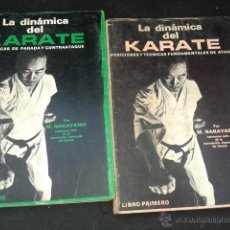 Coleccionismo deportivo: LA DINÁMICA DEL KARATE. M. NAKAYAMA. OBRA COMPLETA. 2 TOMOS. TÉCNICAS PARADA. ATAQUE. CONTRAATAQUE. Lote 152257741