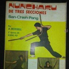 Coleccionismo deportivo: NUNCHAKU DE TRES SECCIONES. SAN-CHIEH-PANG (A ROSSELL). Lote 50761815