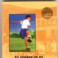 Coleccionismo deportivo: EN NOMBRE DE MI LIBERTAD ¡DEJADME JUGAR! ... ( 1ª EDICIÓN 2006) + REGALO MARCAPAGINAS. Lote 135821919
