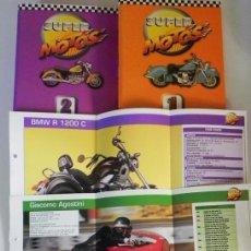 Coleccionismo deportivo: SUPER MOTOS FICHAS MOTOCICLISMO MECÁNICA FOTOS PILOTOS MOTO ÁNGEL NIETO HARLEY DAVIDSON ROSSI LIBRO. Lote 51207153